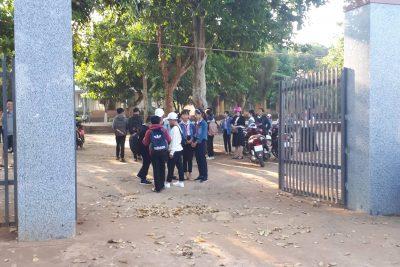 Hoạt động trải nghiệm về nguồn của Trường THCS Trần Phú