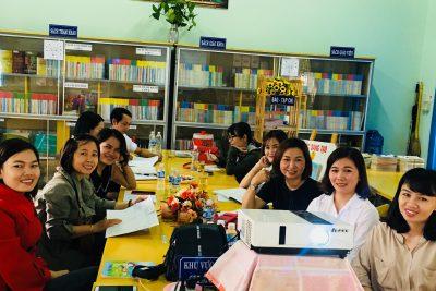 Tập huấn, trao đổi kinh nghiệm về công tác thư viện trường học năm học 2019-2020